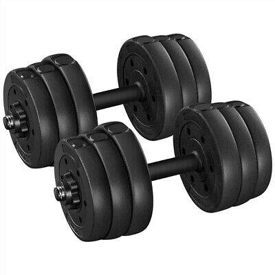 20Kg Dumbells Pair of Free Weights Dumbell Set Gym Home Fitness Workout Training