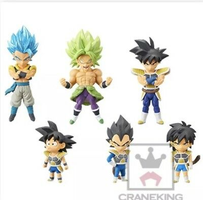 Dragon Ball Super Broly The Movie World Collectable Figure WCF Vol.3 6 Set