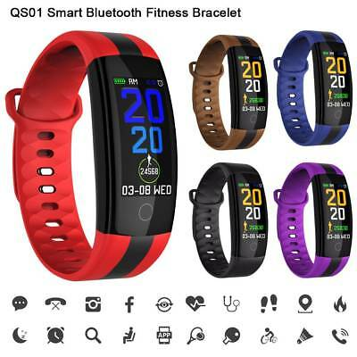 CARDIOFREQUENZIMETRO TRACKER OROLOGIO SMARTWATCH SPORT Band per ANDROID & iOS