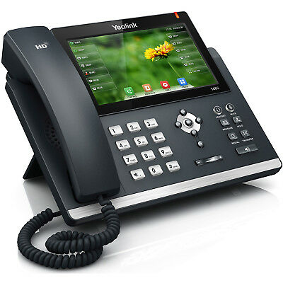 Yealink Sip-T48G/s Gigabit Ip Business Telephone 6-Line Good Condition
