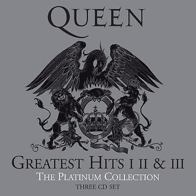 QUEEN 'GREATEST HITS I II & III' (The Platinum Collection) (Best Of) 3 CD SET