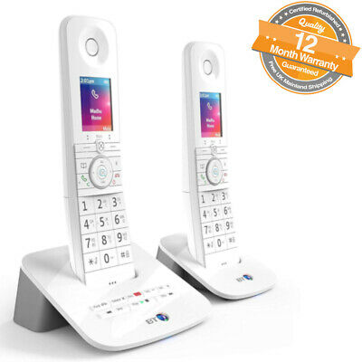 BT Premium Twin Digital Cordless Answerphone with Advanced Call Blocker