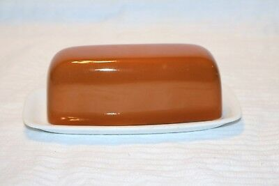 Harmony House Sears & Roebuck 4251 Tierra 1/4 Pound Covered Butter Dish