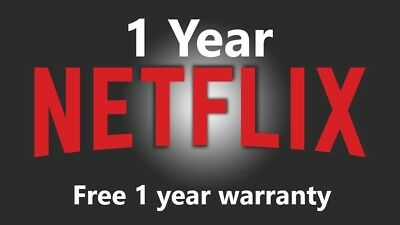 Netflix Gift Delivery - 12 Month Warranty - Automated Website