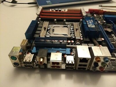 ASUS P6T X58 Motherboard + Intel I7-920 2.66GHz Quad Core + Thermalright Cooler