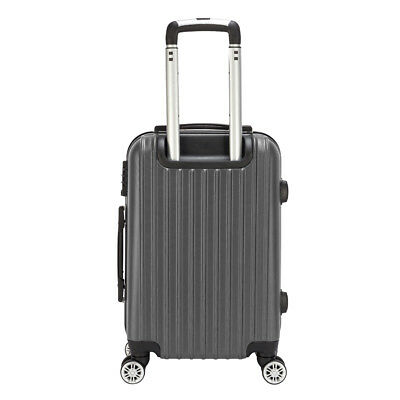 """20"""" Carry On Travel Luggage Bag Trolley Lightweight Suitcase 360° Rolling Wheel"""