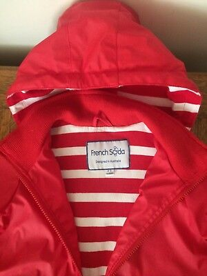 Child's raincoat size 2-3 by French Soda