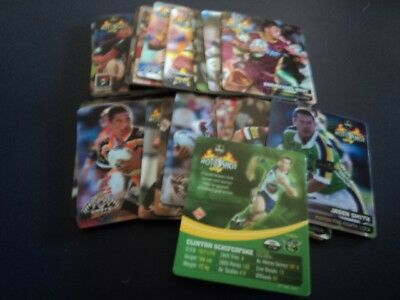 Smiths Chips Nrl Hot Shots...set Of 30 From 2004