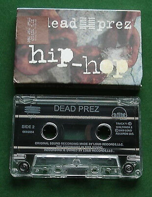 Dead Prez Hip Hop / It's Bigger Than Hip Hop Cassette Tape Single - TESTED