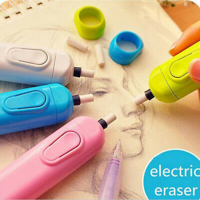 Children's Gift Electric Eraser Battery Operated Rubber Correction Supplies
