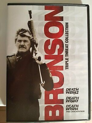 Bronson Triple Threat Collection Dvd