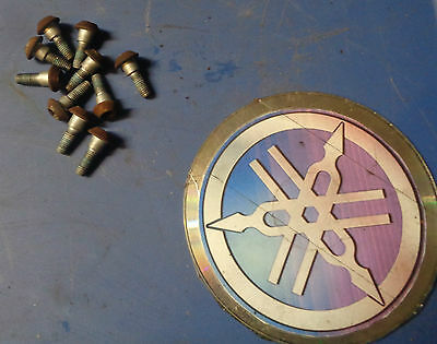 2003 YZF R6 R6S OEM front brake rotor bolts left & right yamaha 03 04 05