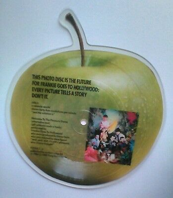 Frankie Goes To Hollywood Shaped Picture Disc Welcome To The Pleasure Dome NEW