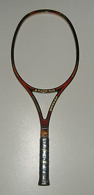 "Vintage Dunlop A-PLAYER PLUS, rare & brand new, oversize frame, 43/8"" L3"