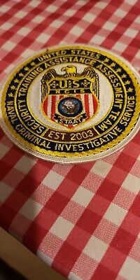 NCIS (Naval Criminal Investigative Service) patch rare. From one of the actors