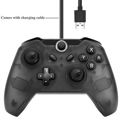 Nintendo Switch Wireless Bluetooth Pro game Controller Joy-Con + Charging Cable