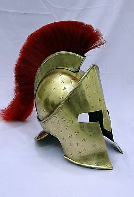 Spartan King Leonidas 300 Movie Helmet CHRISTMAS gift for larp/role play/cosplay