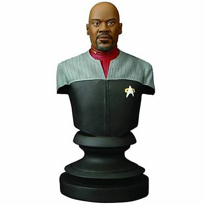 Star Trek Icons Captain Sisko Bust Deep Space Nine DS9 Diamond Select New In Box