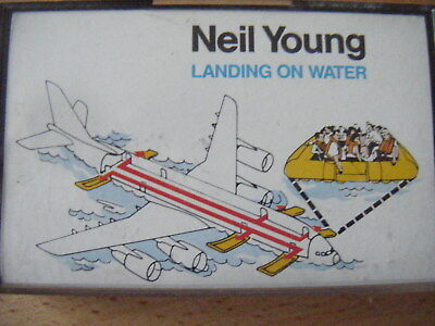 Neil Young - landing On Water - cassette