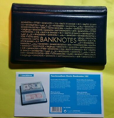 Numis Pocket Banknote Album - Holds 20 Banknotes + free gift