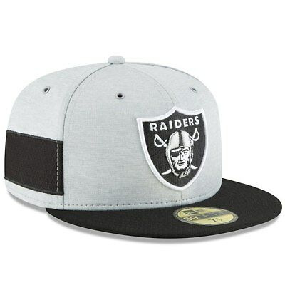 Oakland Raiders Cap Sideline Home NFL Football New Era 59fifty Kappe