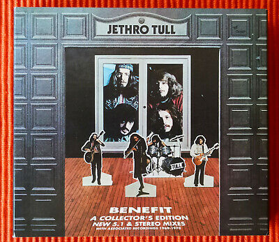JETHRO TULL – BENEFIT  A COLLECTOR'S  EDITION   2CD + 1DVD  Set   NEW and SEALED