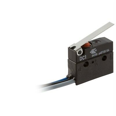 ZF DC1C-C3LC Microswitch SPDT 6A 250V AC, Medium Lever, Leads, IP67