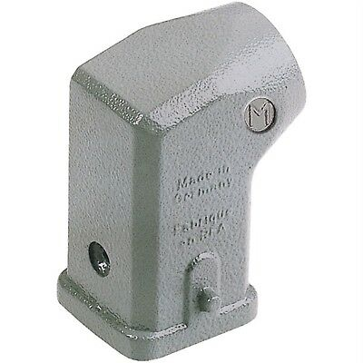 Harting 19 20 003 1640 Han® 3 A Hood Cable Entry Zinc Die-cast 2 Pegs