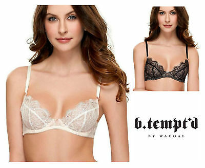 8b86b441c0 B.tempt d by Wacoal Sultry Non Padded Underwired Bra 951261 New Sexy  Lingerie
