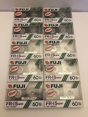 10 Cassette Ten Fuji Fr-Is Super 60 Normal