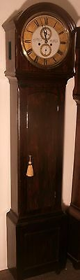 """Antique Mahogany  """" Broughty  Ferry """"   8 Day   Longcase / Grandfather Clock"""