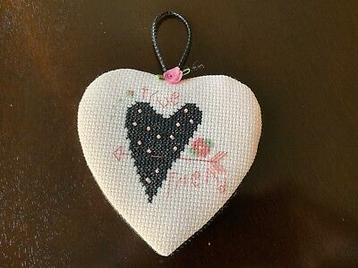 "Shepherds Bush ""TRUE FRIEND"" Valentine Heart finished Ornament Door Hanger"