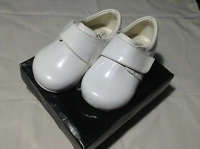 Early Steps Baby Boy / Special Occasion /Christening Shoes Prince White Size 2