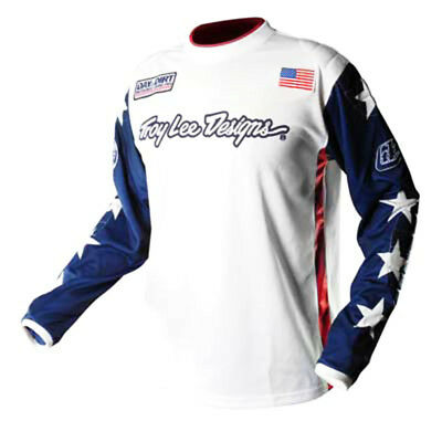 Troy Lee Designs Day in the Dirt Jersey White Large