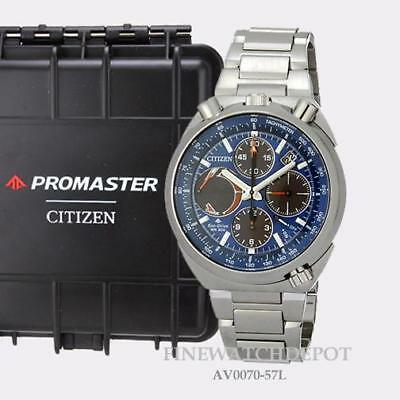 45fdc9dc696 Authentic Citizen Eco-Drive Men s Promaster Tsuno Chronograph Watch  AV0070-57L