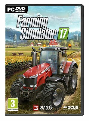 Farming Simulator 17 - PC - Sigillato  Nuovo italiano