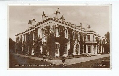 Postcard. Real Photo. Compton Place, Eastbourne.