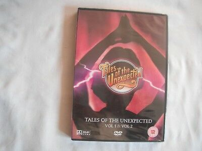 Tales of the Unexpected - Vol 1 & Vol 2 - 8 Classic Episodes (DVD) NEW & SEALED
