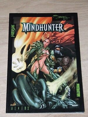 Mindhunter - Aliens/Witchblade/Darkness/Predator TPB (2001 Dark Horse/Top Cow)