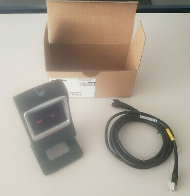Honeywell 7580 7580G-2-1D Series BarCode Scanner Black w/ USB Cable Free Ship!