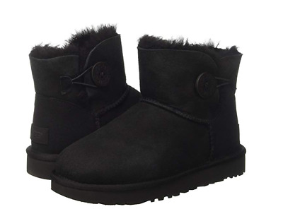 e2f2450b8d5 UGG WOMEN'S MINI Bailey Button Winter Boots Style#1016422 Size 5-10