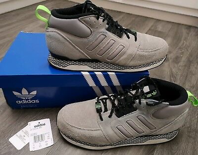 carta mundo cerca  RARE ADIDAS ZX Casual Mid Trainers Boots 9 Grey Suede White Black Zx 300  500 850 - EUR 44,31 | PicClick FR