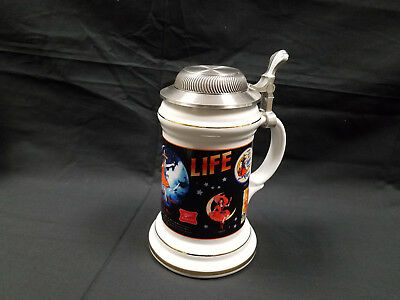 Exclusive Miller Brewery Shop Stein Girl in the Moon Through the Years