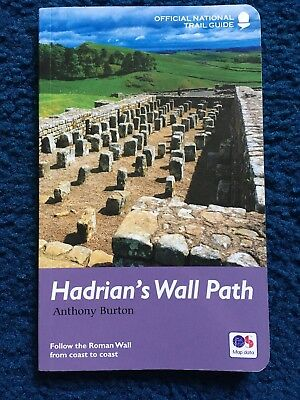 Hadrian's Wall Path: National Trail Guide by Anthony Burton (Paperback, 2016)