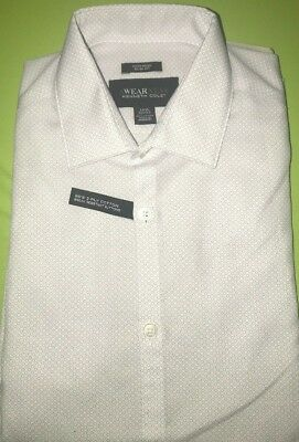 4f554a2e14 KENNETH COLE MENS Awearness Slim Fit Dress Shirt Size 14 1/2, 32/33 ...