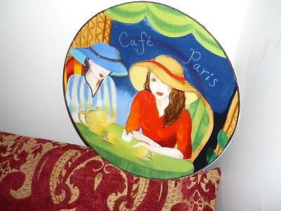 Cafe series plate Great wall hanging plate dinner plate size