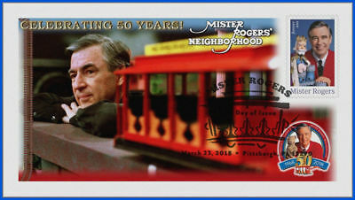 Fred Rogers and Mister Rogers Neighborhood (5275) - USPS First Day Cover #002