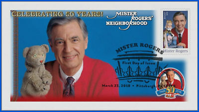 Fred Rogers and Mister Rogers Neighborhood (5275) - USPS First Day Cover #001