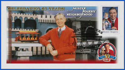 Fred Rogers and Mister Rogers Neighborhood (5275) - USPS First Day Cover #004