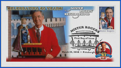 Fred Rogers and Mister Rogers Neighborhood (5275) - USPS First Day Cover #013